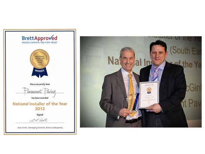 orpington paving awards